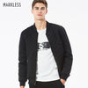 Image of Markless Black Men's Bomber Jacker