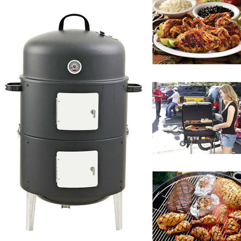 Portable Charcoal Barbecue - Family Party Cooking