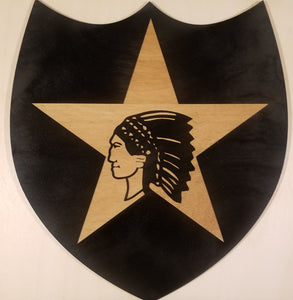 2nd Infantry Division Insignia, Custom Military Cutout