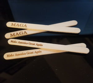 MAGA Popsicle Sticks (50)