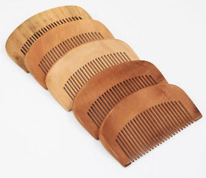 50 Custom Engraved Regular Beard Combs