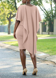 Camila Cape Bodycon Dress