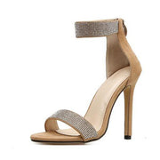 Sylvia, Crystal Bling Stiletto High Heels