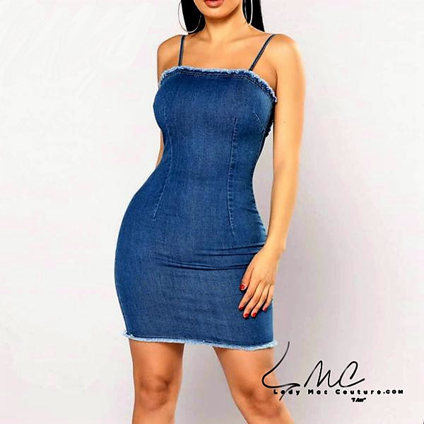 Colysmo, Sexy and Simple Denim Dress