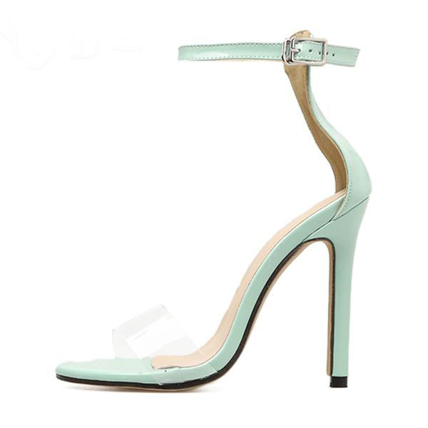 Sugar Crush Light Blue Women High Heel Sandals