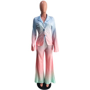 New Fashion Tie Dye Business Blazer Suit Office