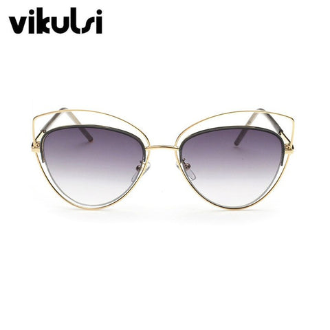Oversize Mirror Cat Eye Vintage Sunglasses Deliver Elegant and Sophisticated Look