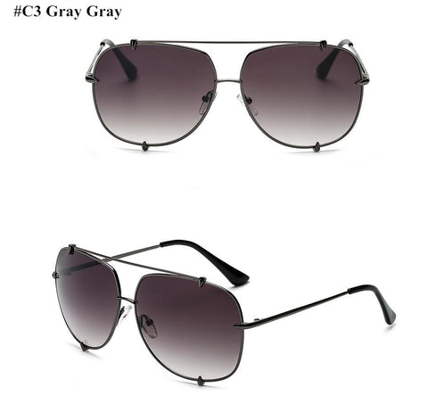 Celebrity Style Sun Shades Retro Brand Pilot Sunglasses, a Cool Look