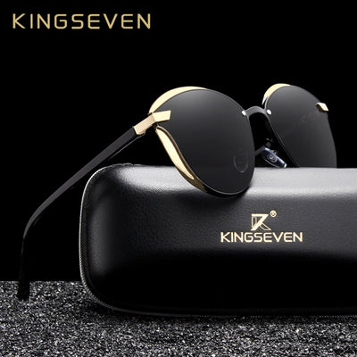 Futuristic Cat Eye Sunglasses Polarized Shades