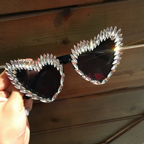 In Love Heart Shape Summer Glasses