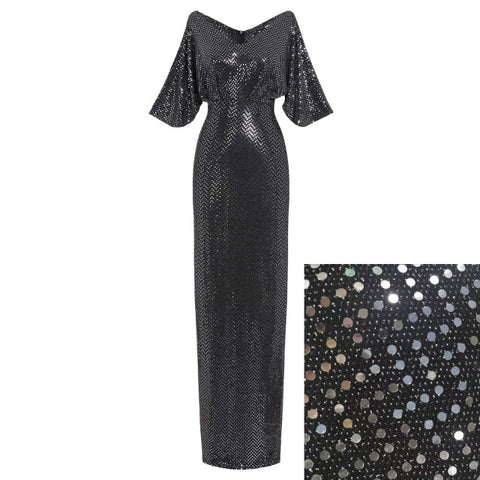 Tais a, Sizzling Sexy Club Summer Sequin Glitter, Luxury Party Dress