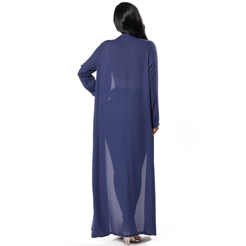 Sexy Lucero Chiffon Maxi Cover Up Duster