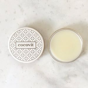Cocovit - Organic Orange + Basil Lip Balm (1oz)