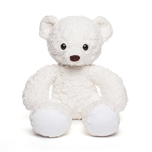 Bears For Humanity Organic Sherpa Bear Plush Animal Toy, White, 16