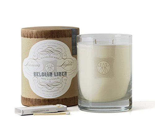 Linnea's Lights Belgian Linen 11oz Candle