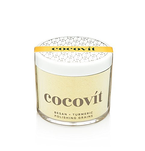 Cocovit - Organic Besan + Turmeric Face Polishing Grains & Mask - 2-in-1 (4oz)