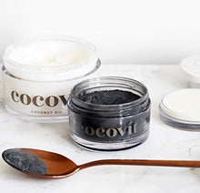 Load image into Gallery viewer, Cocovit - Organic Activated Coconut Charcoal Face Mask for All Skin Types (3.3oz)