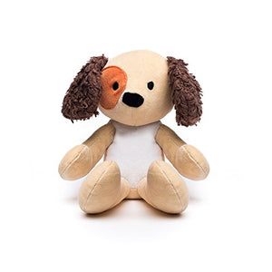 Bears For Humanity Organic Puppy Animal Pals Plush Toy, 12""