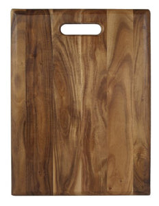"Architec Gripperwood Acacia Cutting Board, Non-Slip Gripper Feet, 12"" by 16"""