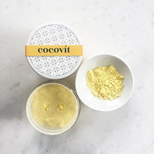 Load image into Gallery viewer, Cocovit - Organic Besan + Turmeric Face Polishing Grains & Mask - 2-in-1 (4oz)