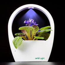 Load image into Gallery viewer, SimLife LED Plant Grow Light Kit Indoor Herb Garden Desktop USB Grow Lamp Auto Mode for Plants Hydroponics Greenhouse Office Great for Growing Fresh Herbs, Seed Not Including, Great Gift (White)
