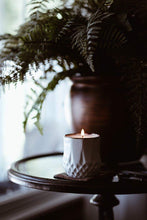 Load image into Gallery viewer, The Growing Candle - Hate Tossing Empty Candles? Try Our Less-Waste Solution. Burn Candle. Plant Seed-Embedded Label. Grow Wildflowers! Clean Products For A Cleaner Environment. HLC-AST-SAN