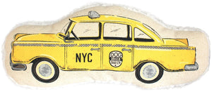 Harry Barker Taxicab Toy - Yellow - Small