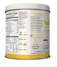 Load image into Gallery viewer, ALOHA Organic Plant Based Protein Powder, Banana, 19.5 oz, 15 Servings, Vegan, Gluten Free, Non-GMO, Stevia Free, Soy Free, Dairy Free