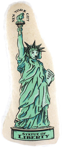 Harry Barker Statue of Liberty Canvas Chew Toy (Statue of Liberty, Large)