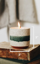 Load image into Gallery viewer, - The Growing Candle - Hate Tossing Empty Candles? Try Our Less-Waste Solution. Burn Candle. Plant Seed-Embedded Label. Grow Wildflowers! Clean Products For A Cleaner Environment. HLC-EDI-SAN