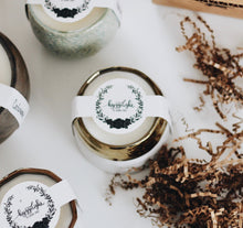 Load image into Gallery viewer, - The Growing Candle - Hate Tossing Empty Candles? Try Our Less-Waste Solution. Burn Candle. Plant Seed-Embedded Label. Grow Wildflowers! Clean Products For A Cleaner Environment. HLC-CLA-LAV