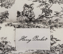 Load image into Gallery viewer, Harry Barker Toile Bedroll - Black - X-Small