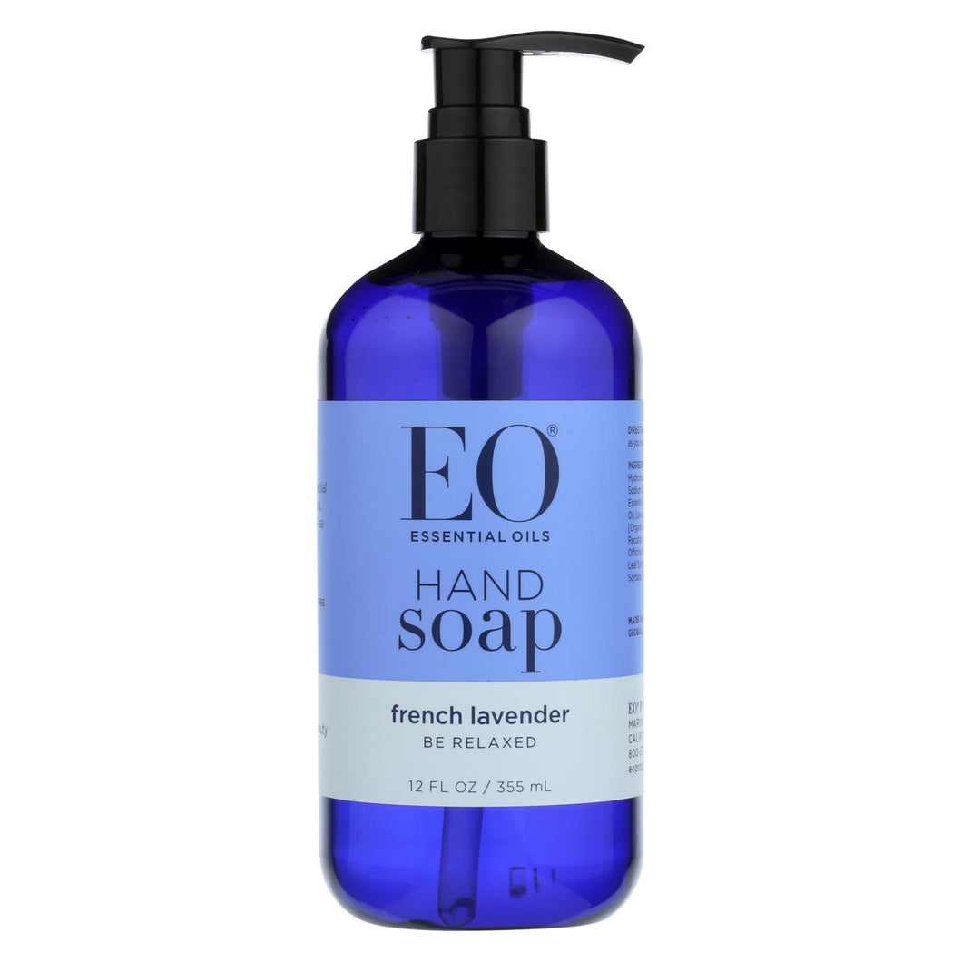 Eo Products - Liquid Hand Soap French Lavender - 12 Fl Oz