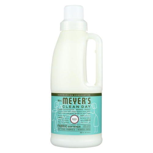 Mrs. Meyer's Clean Day - Fabric Softener - Basil - Case Of 6 - 32 Oz