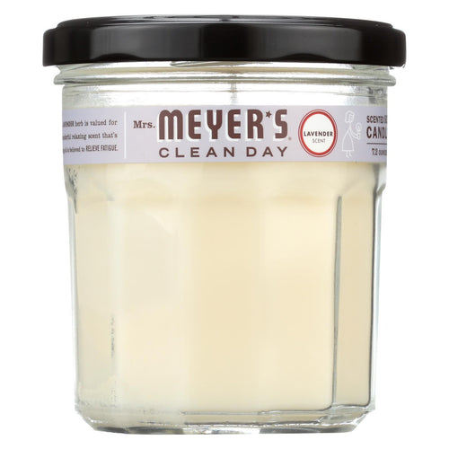 Mrs. Meyer's Clean Day - Soy Candle - Lavender - Case Of 6 - 7.2 Oz Candles