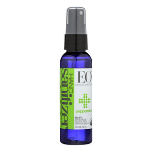 Eo Products - Hand Sanitizer Spray - Peppermint - Case Of 6 - 2 Oz