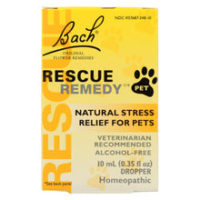 Load image into Gallery viewer, Bach Flower Remedies Rescue Remedy Stress Relief For Pets - 10 Ml