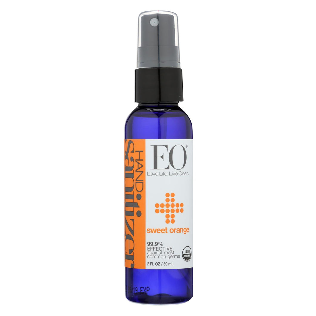 Eo Products - Hand Sanitizer Spray - Orange - Case Of 6 - 2 Oz