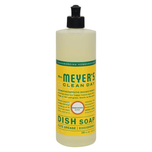 Mrs. Meyer's Clean Day - Liquid Dish Soap - Honeysuckle - Case Of 6 - 16 Oz