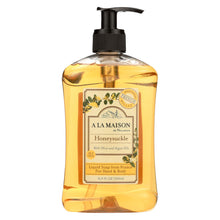 Load image into Gallery viewer, A La Maison - French Liquid Soap - Honeysuckle - 16.9 Oz
