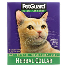 Load image into Gallery viewer, Petguard Herbal Collar For Cats - 1 Collar