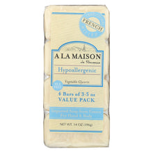 Load image into Gallery viewer, A La Maison - Bar Soap - Unscented Value Pack - 3.5 Oz Each - Pack Of 4