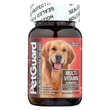 Load image into Gallery viewer, Petguard Multi-vitamin And Mineral - For Dogs - 50 Tablets
