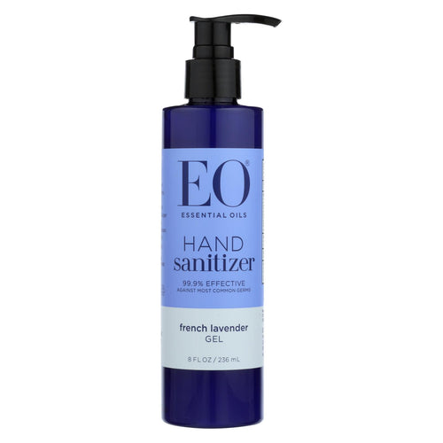 Eo Products - Hand Sanitizing Gel - Lavender Essential Oil - 8 Oz