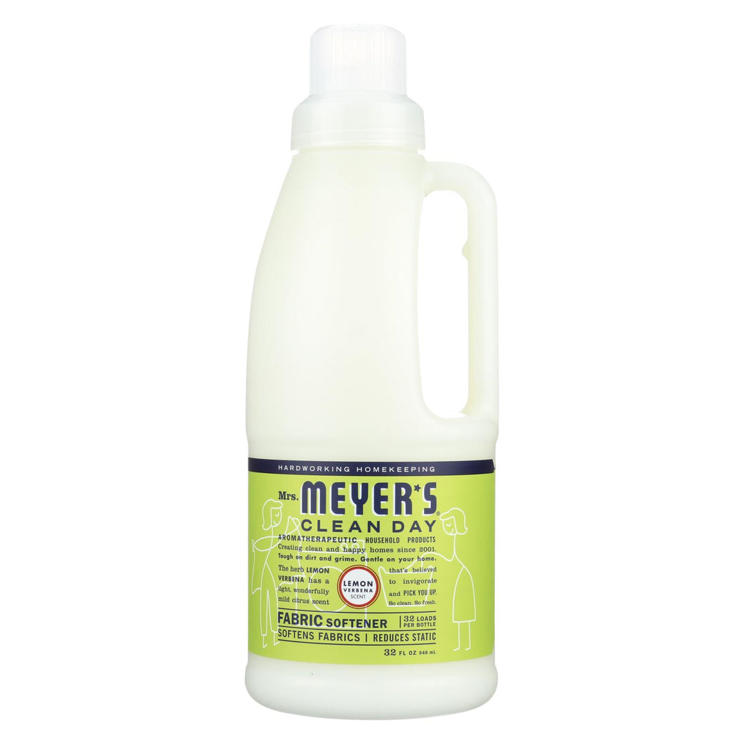Mrs. Meyer's Clean Day - Fabric Softener - Lemon Verbena - Case Of 6 - 32 Oz