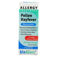 Load image into Gallery viewer, Bio-allers - Pollen Hay Fever - 1 Oz