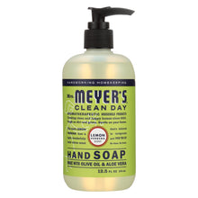 Load image into Gallery viewer, Mrs. Meyer's Clean Day - Liquid Hand Soap - Lemon Verbena - Case Of 6 - 12.5 Oz
