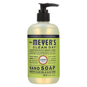 Mrs. Meyer's Clean Day - Liquid Hand Soap - Lemon Verbena - Case Of 6 - 12.5 Oz