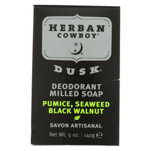 Load image into Gallery viewer, Herban Cowboy Milled Bar Soap Dusk - 5 Oz