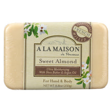 Load image into Gallery viewer, A La Maison - Bar Soap - Sweet Almond - 8.8 Oz